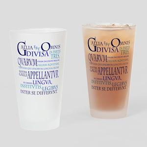 Gallia (blue) Drinking Glass