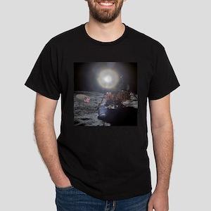 RightPix Moon DF Dark T-Shirt