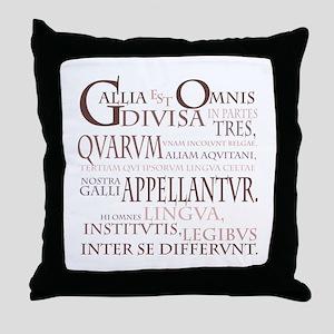 Gallia (lavendar) Throw Pillow