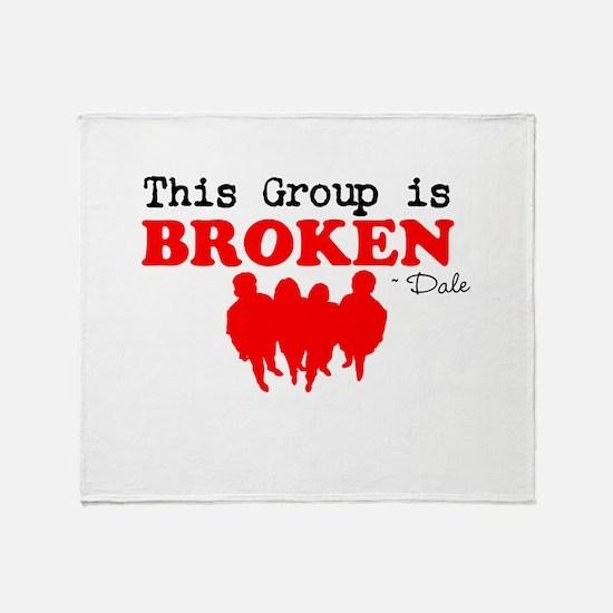 Broken Throw Blanket