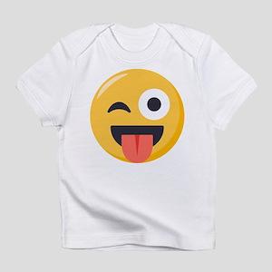 Winky Tongue Emoji Infant T-Shirt