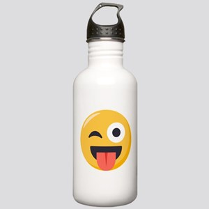 Winky Tongue Emoji Stainless Water Bottle 1.0L