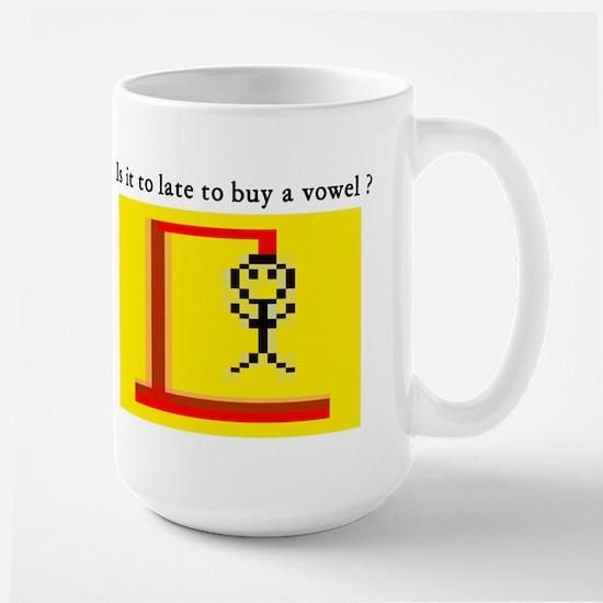 Hangman Large Mug