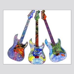 Wild Guitar Small Poster