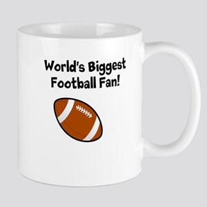 Worlds Biggest Football Fan Mug