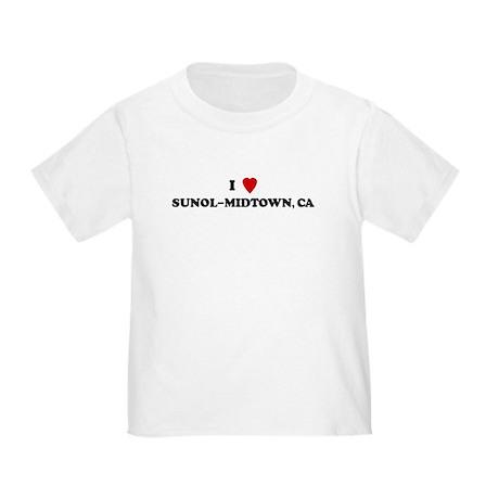 I Love SUNOL-MIDTOWN Toddler T-Shirt