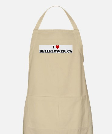 I Love BELLFLOWER BBQ Apron