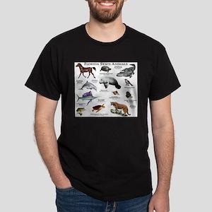 Florida State Animals Dark T-Shirt