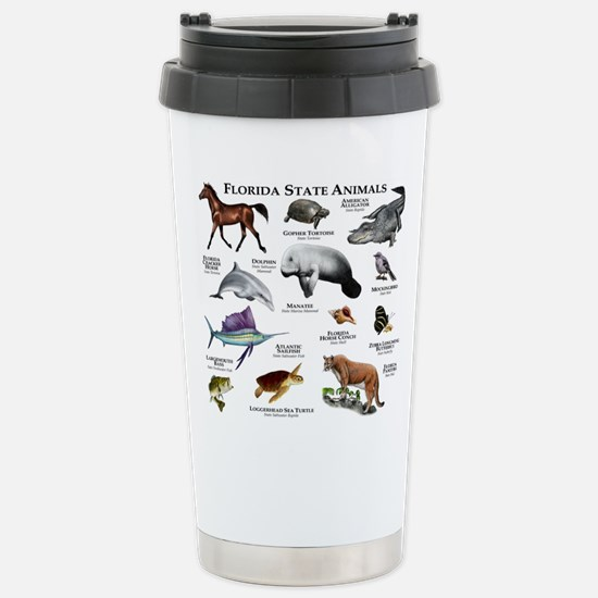 Florida State Animals Stainless Steel Travel Mug