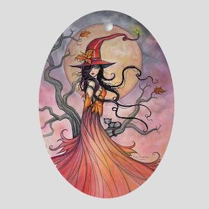 Autumn Magic Ornament (Oval)