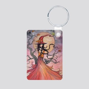 Autumn Magic Aluminum Photo Keychain