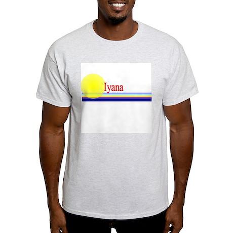 Iyana Ash Grey T-Shirt