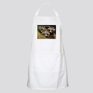 Anti-Fur Raccoon Dog pups Apron