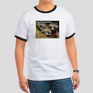Anti-Fur Raccoon Dog pups Ringer T