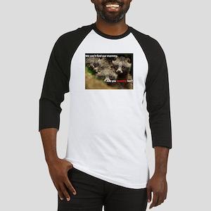 Anti-Fur Raccoon Dog pups Baseball Jersey