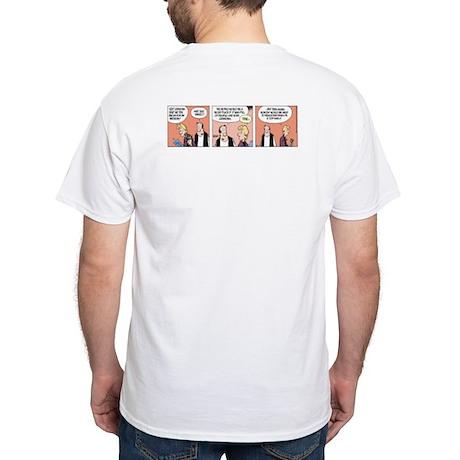 Little Grandma White T-Shirt