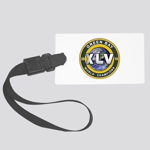 Green Bay 2010 World Champs Large Luggage Tag
