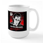 BARON ON BLACK Large Mug