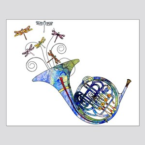 Wild French Horn Small Poster