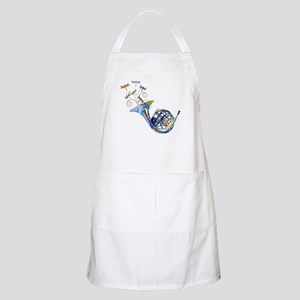 Wild French Horn Apron