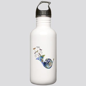Wild French Horn Stainless Water Bottle 1.0L