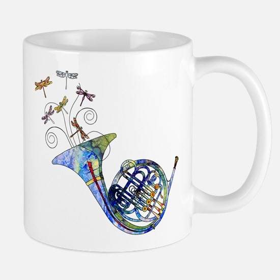 Wild French Horn Mug