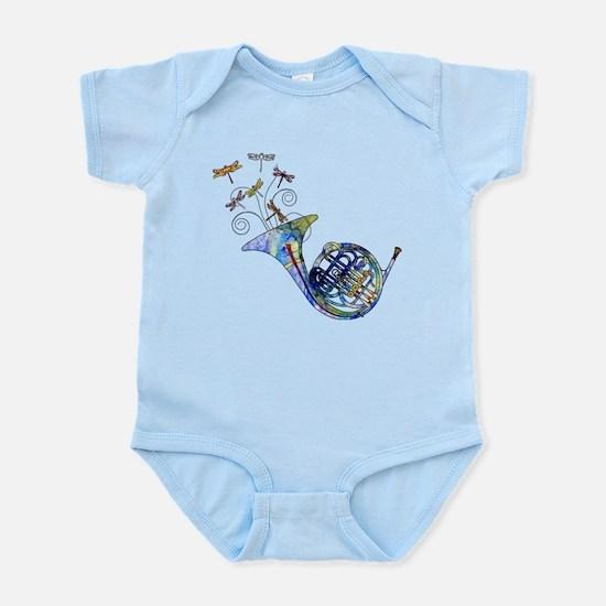 Wild French Horn Infant Bodysuit