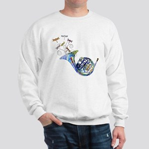 Wild French Horn Sweatshirt