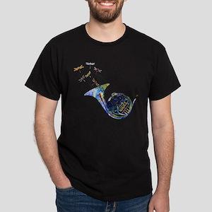 Wild French Horn Dark T-Shirt