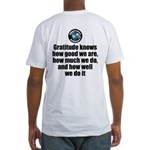 Gratitude Knows Fitted T-Shirt