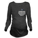 Gratitude Knows Long Sleeve Maternity T-Shirt