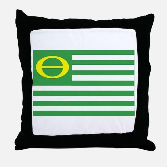 Ecology Flag Throw Pillow