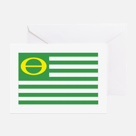 Ecology Flag Greeting Cards (Pk of 10)