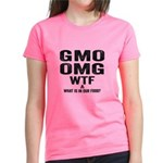 GMO OMG Women's Dark T-Shirt