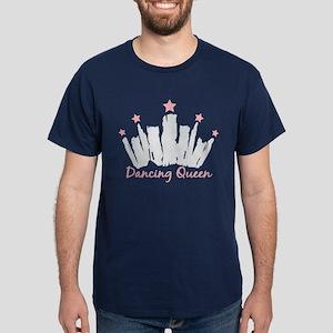 Dancing Queen Crown Dark T-Shirt