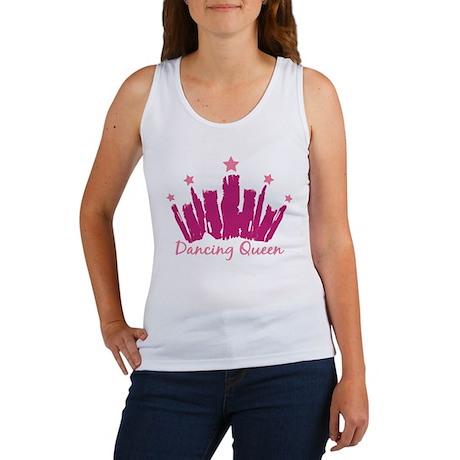 Dancing Queen Crown Women's Tank Top