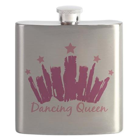Dancing Queen Crown Flask