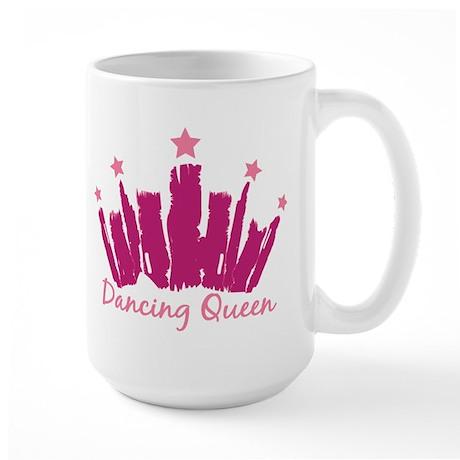 Dancing Queen Crown Large Mug