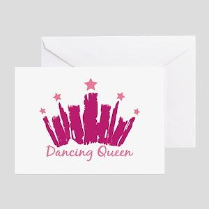 Dancing Queen Crown Greeting Card