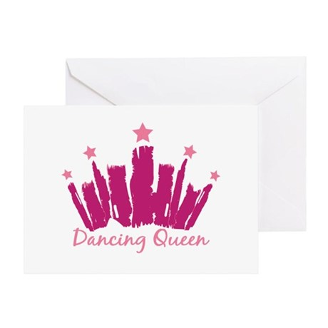 Dancing Queen Crown Greeting Card
