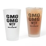 GMO OMG Drinking Glass