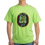 USS IOWA Green T-Shirt