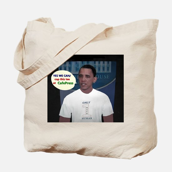YES WE CAN/cop this tee Tote Bag