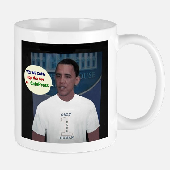 YES WE CAN/cop this tee Mug