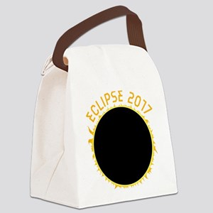 Solar Eclipse 2017 Canvas Lunch Bag
