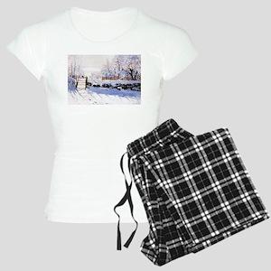 Claude Monet The Magpie Women's Light Pajamas