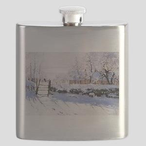 Claude Monet The Magpie Flask