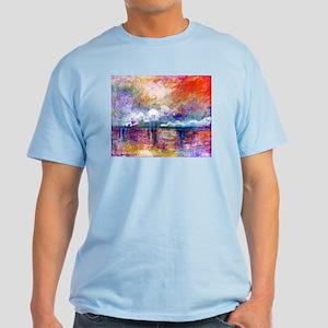 Claude Monet Charing Cross Bridge Light T-Shirt