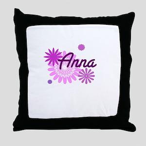 Anna Fun Throw Pillow