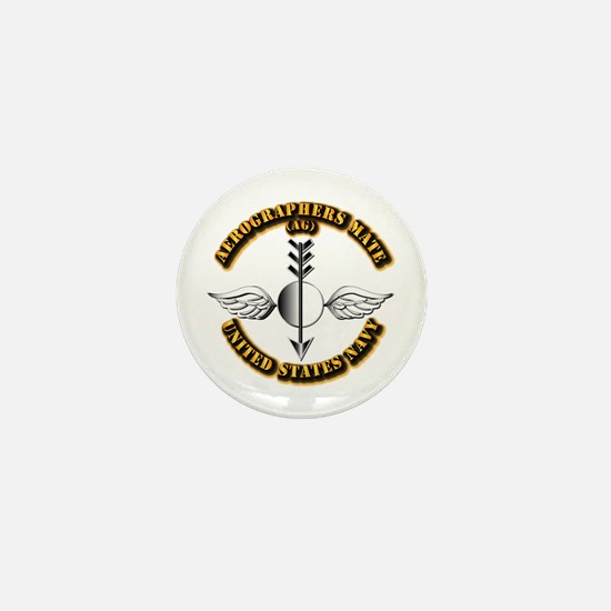 Navy - Rate - AG Mini Button